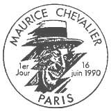 Oblitération 1er jour à Paris le 16 juin 1990