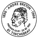 Oblitération 1er jour à Tinchebray le 23 février 1991