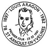 Oblitération 1er jour à St-Arnoult en Yveline le 23 février 1991