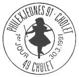 Oblitération 1er jour à Cholet le 30 mars 1991