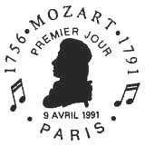 Oblitération 1er jour à Paris le 9 avril 1991