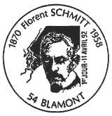 Oblitération 1er jour à Blamont le 11 avril 1992