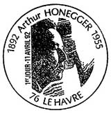 Oblitération 1er jour au Havre le 11 avril 1992