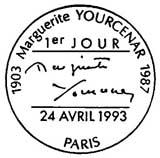 Oblitération 1er jour à Paris le 24 avril 1993