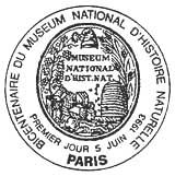 Oblitération 1er jour à Paris le 5 juin 1993
