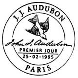 Oblitération 1er jour à Paris et Nantes le 25 février 1995