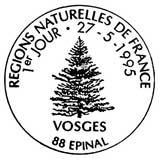 Oblitération 1er jour à Epinal le 27 mai 1995