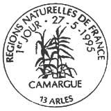 Oblitération 1er jour à Arles le 27 mai 1995