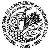 Oblitération 1er jour à Paris le 4 mai 1996