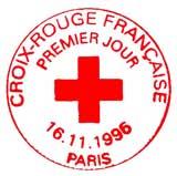 Oblitération 1er jour à Paris le 16 novembre 1996