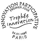 Oblitération 1er jour à Paris le 24 janvier 1997