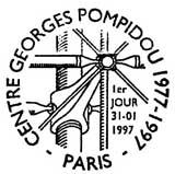 Oblitération 1er jour à Paris le 31 janvier 1997