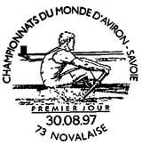 Oblitération 1er jour à Novalaise le 30 aout 1997