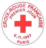 Oblitération 1er jour à Paris le 6 novembre 1997