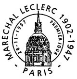 Oblitération 1er jour à Paris, Amiens et Strasbourg le 28 novembre 1997