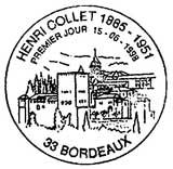 Oblitération 1er jour à Bordeaux le 15 mai 1998