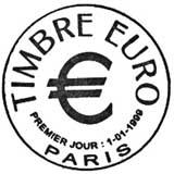 Oblitération 1er jour à Paris le 6 février 1999