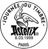Bureaux temporaires à Paris et dans les 102 villes organisatrices de la journée du timbre le 6 mars 1999