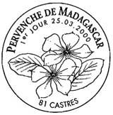 Oblitération 1er jour à Castres 25 mars 2000