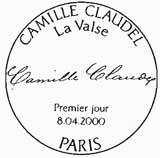 Oblitération 1er jour à Paris et Fère en Tardenois le 8 avril 200