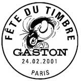 Oblitération 1er jour à Paris le 24 février 2001