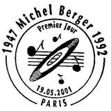 Oblitération 1er jour à Paris le 19 mai 2001