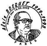 Oblitération 1er jour à Paris le 16 février 2002