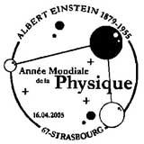 Oblitération 1er jour à Paris le 16 avril 2005