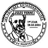 Oblitération 1er jour à Paris, Nantes et Amiens le 28 mai 2005
