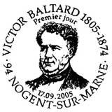 Oblitération 1er jour à Nogent sur Marne le 17 septembre 2005