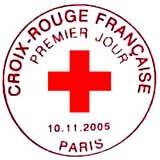 Oblitération 1er jour à Paris le 10 octobre 2005