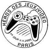 Oblitération 1er jour à Paris le 11 novembre 2005