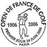 Oblitération 1er jour à Paris le 24 juin 2006