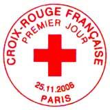 Oblitération 1er jour à Paris le 25 novembre 2006