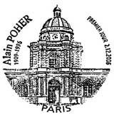 Oblitération 1er jour à Paris le 2 décembre 2006