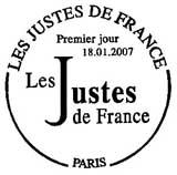 Oblitération 1er jour à Paris le 18 janvier 2007