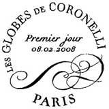 Oblitération 1 jour à Paris à la bibliothèque nationale le vendredi 8 février 2008
