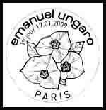 Oblitération 1 jour  à Paris Maison de l'Europe les 17 et 18 janvier 2009