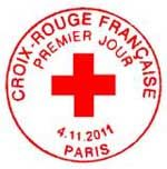 Oblitération 1er jour à Paris  au Carré d'Encre et au Salon Philatélique d'Automne à Paris Expo le 4 et 5 novembre 2011.'