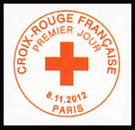 Oblitération 1er jour à Paris au Carré d'Encre et au Salon philatélique d'Automne le 8, 9 et 10 novembre 2012