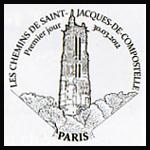 Oblitération 1er jour à Paris au Carré d'Encre et au Puy-en-Velay le 30 et 31 mars 2012