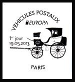 Oblitération 1er jour à Strasbourg le dimanche 19 mai 2013