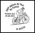 Oblitération 1er jour à Paris au Carré d'Encre et en Corse à Porto-Vecchio et Bastia le samedi 29 juin 2013