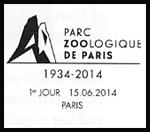 Oblitération 1er jour à Paris au Salon Planète Timbres le dimanche 15 juin 2014