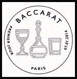 Oblitération 1er jour à Paris au Carré d'Encre et au musée Baccarat le mardi 7 janvier 2014