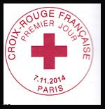 Oblitération 1er jour à Paris au Carré d'Encre et au salon d'automne le 7 et 8 novembre 2014