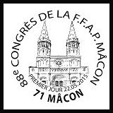 Oblitération illustrée 1er jour à Paris au Carré d'Encre et à Mâcon (71) du 22 au 25 mai 2015