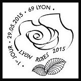 Oblitération illustrée 1er jour à Paris au Carré d'Encre et à Lyon (69) le 29, 30 et 31 mai 2015