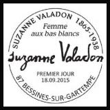 Oblitération illustrée 1er jour à Paris au Carré d'Encre et à Bessines sur Gartempe (87), à Pierrefitte sur Seine (93) le 18 et 19 septembre 2015