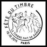 Oblitération illustrée 1er jour dans les 62 villes organisatrices de la fête du timbre de 2015